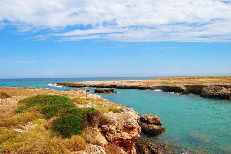 Scoglio degli Achei, Puglia,