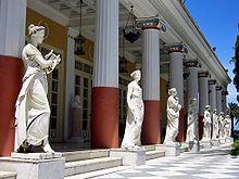 Villa Achilleion, Grecia,