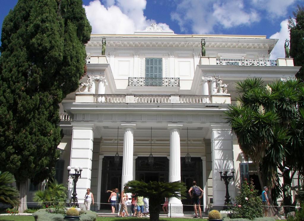 Grecia, villa Achilleion,