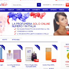 Profumeria web, mille scelte on line per un bel regalo
