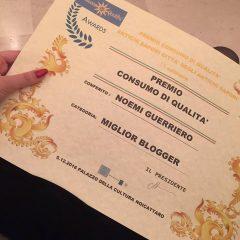 Premiata a Noicattaro come miglior Blogger