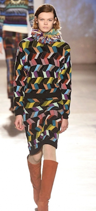 Missoni, Milano fashion week,