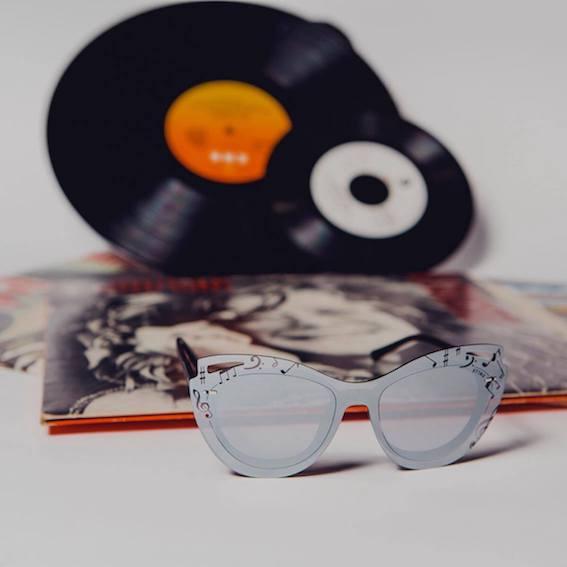 Al Mido la collezione Sting dedicata alla musica, occhiali, Cat eye,