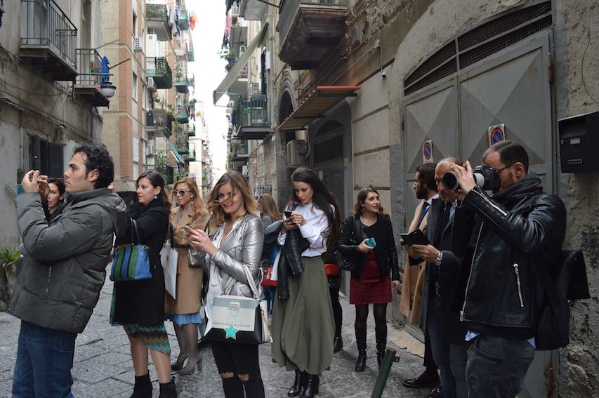 Napoli sotterranea, Bencivenga, Moda uomo, alta sartoria,