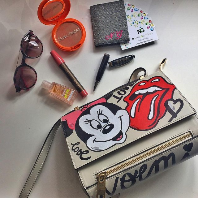 Voglio vivere a colori ! happy day bag rossettohellip