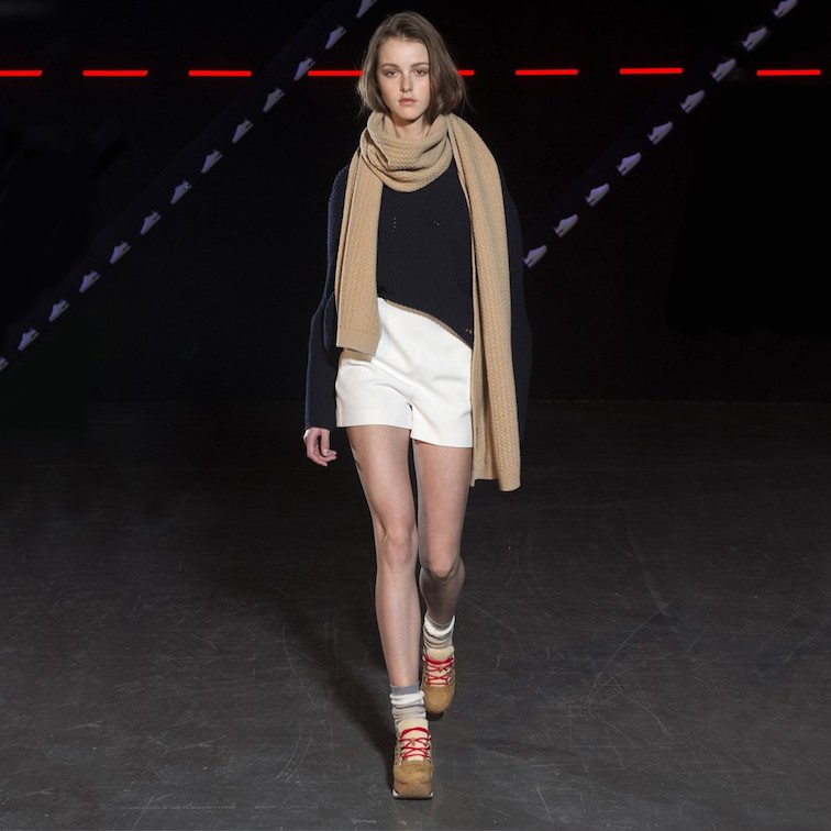 Milano Fashion week, la collezione Hogan, scarpe,