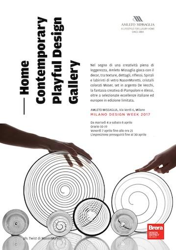 Home Contemporary playful design gallery, Amleto Missaglia home decor,