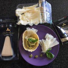 Bella Lodi, ricetta speciale con canestrello di formaggio