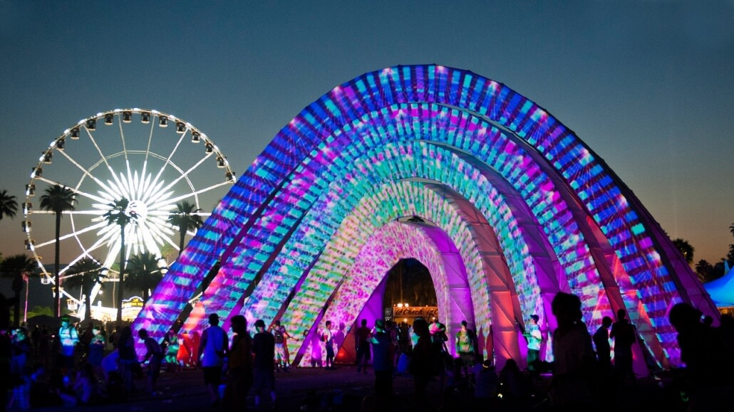 Coachella Festival, California,