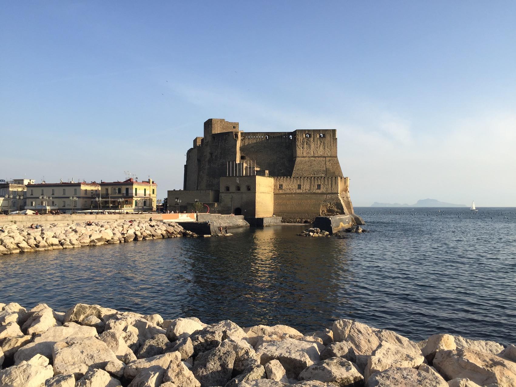 Castel dell'Ovo, Napoli,