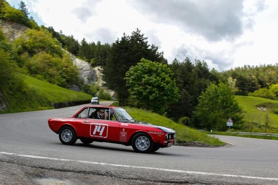 Crazyrun in Toscana, auto d'poca e stravanganti,