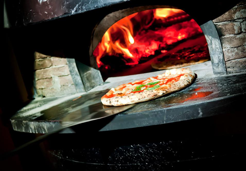pizza, forno, Napoli,