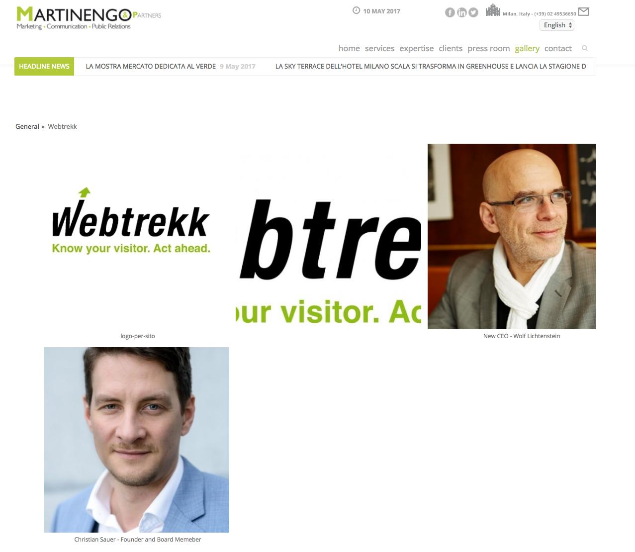 Sito, Webtrekk,
