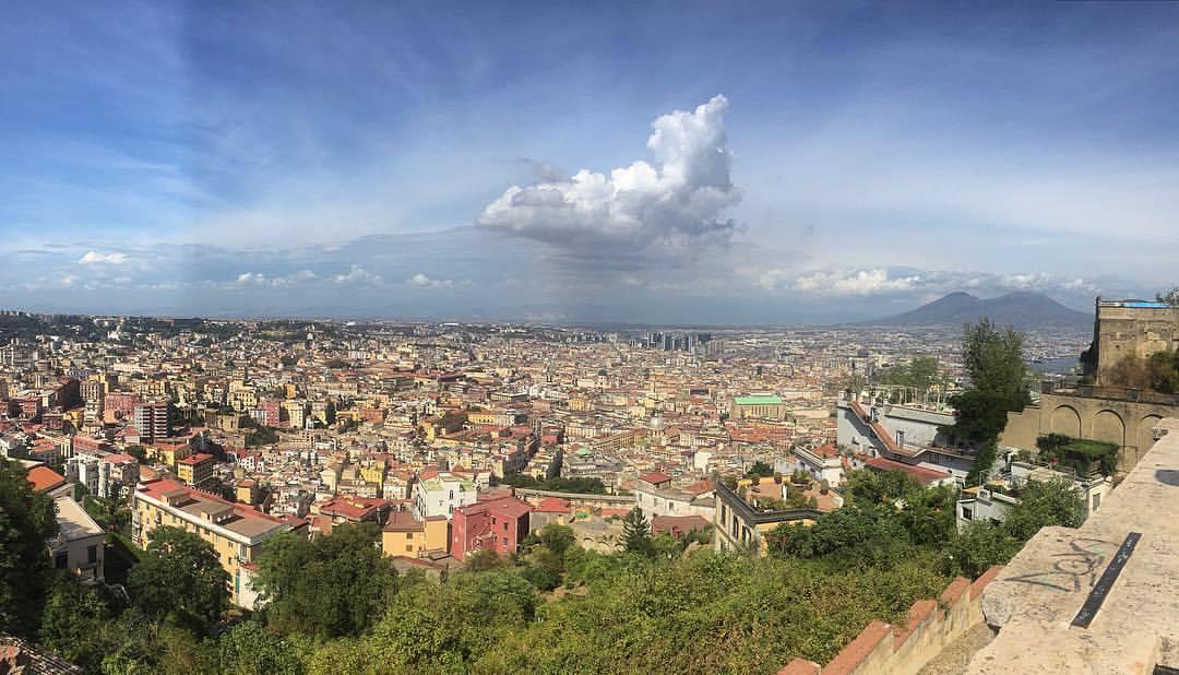Napoli, panorama,