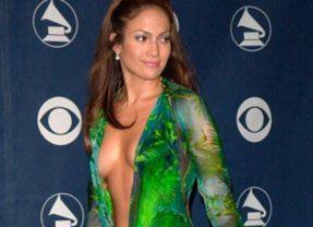 """Versace e il """"vestito verde"""""""
