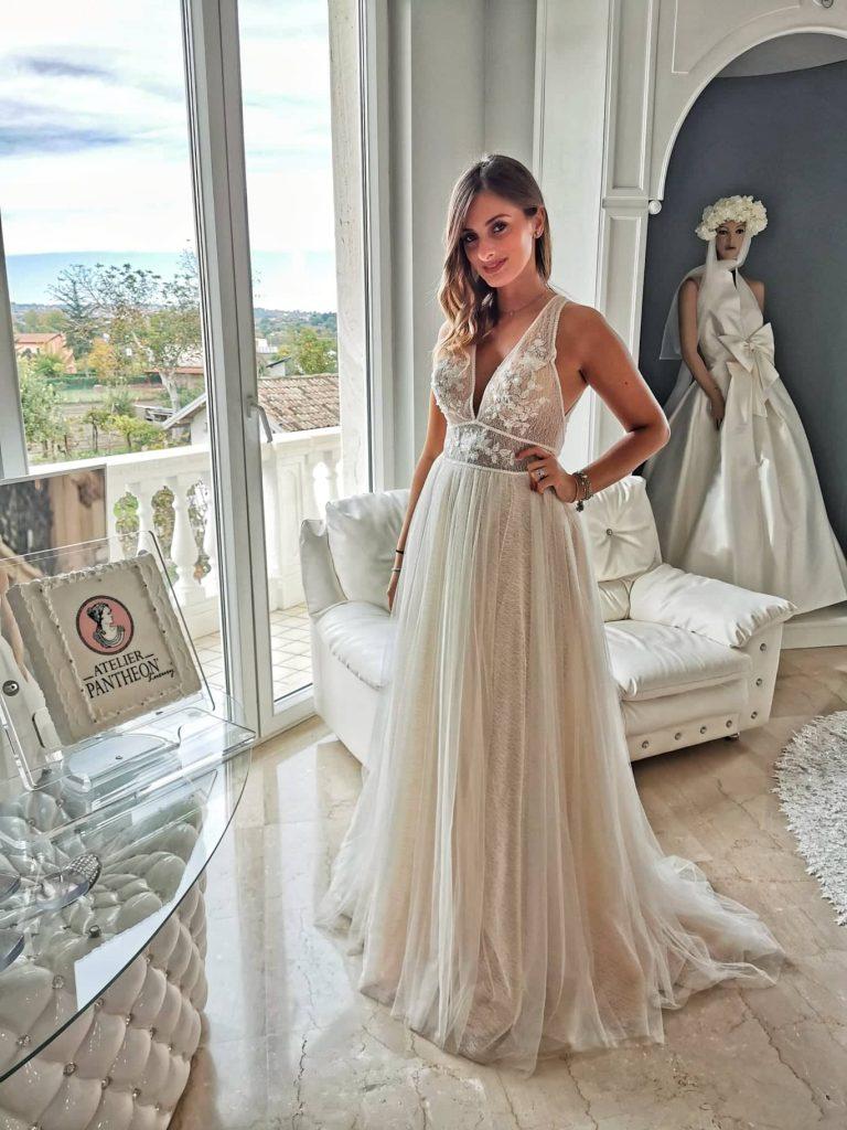 abito da sposa Atelier Pantheon