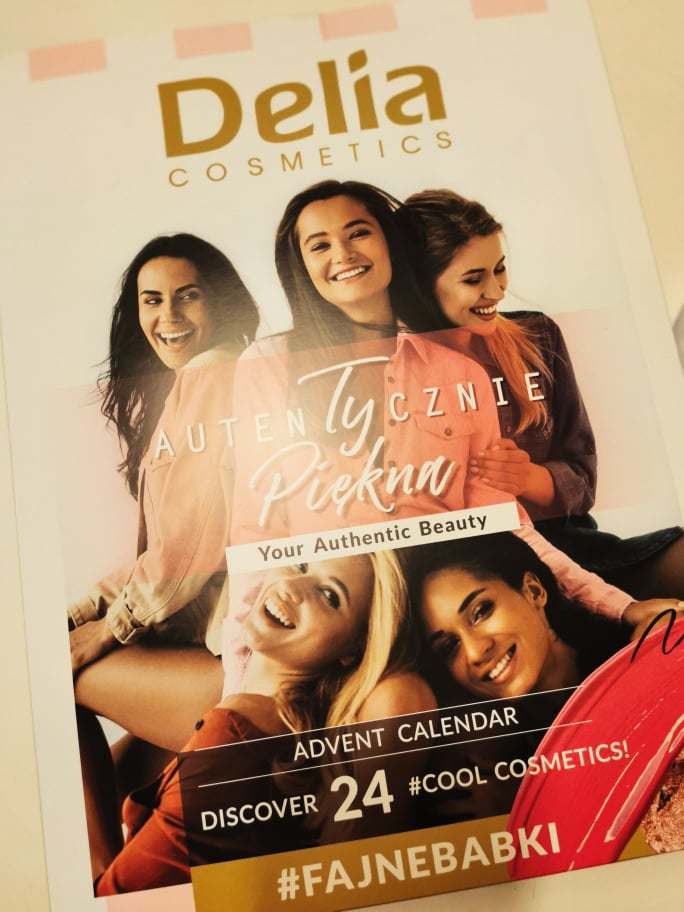 calendario dell'avvento delia cosmetics