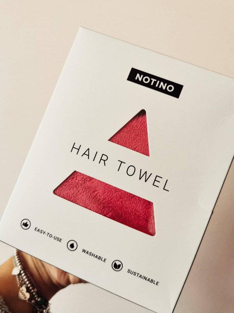 asciugamano capelli notino