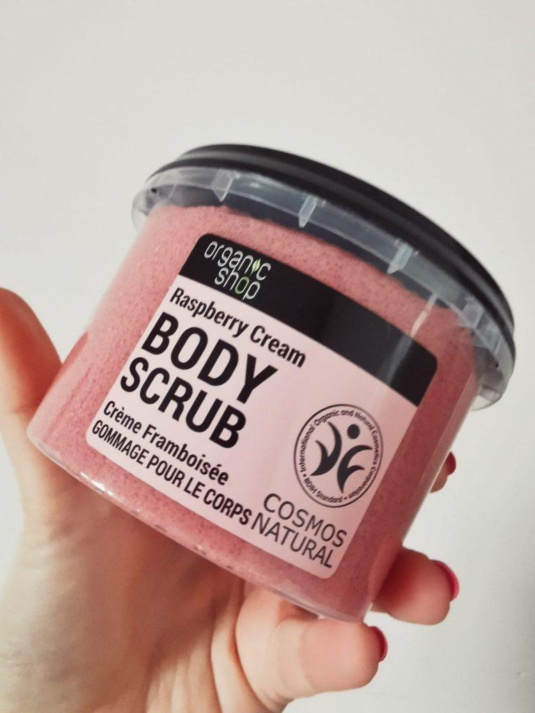 Body Scrub Raspberry & Sugar